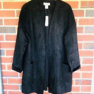 Carmen Marc Valvoline faux suede jacket